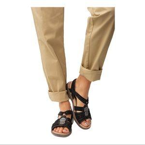 Ronsports Women's Sandal Bonnie Black size…